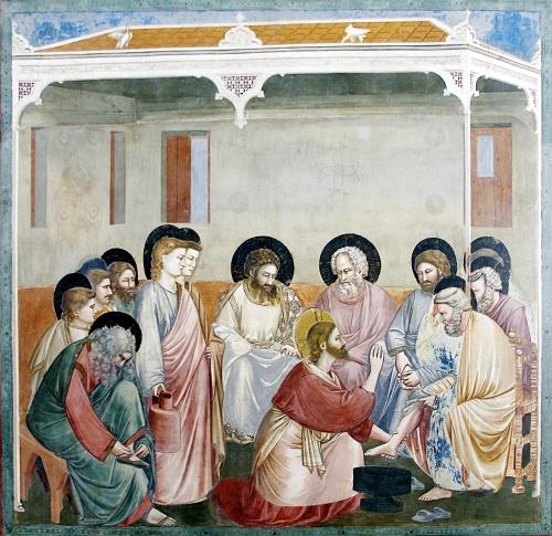 Učit se pokorné služebné lásce od Ježíše