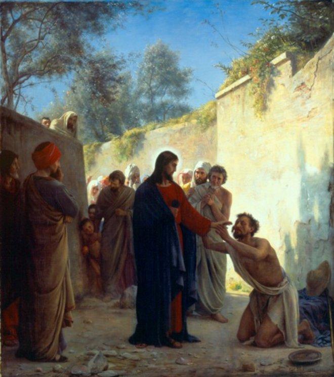 Vánoce - pokorně prosit Ježíše o očištění z hříchů