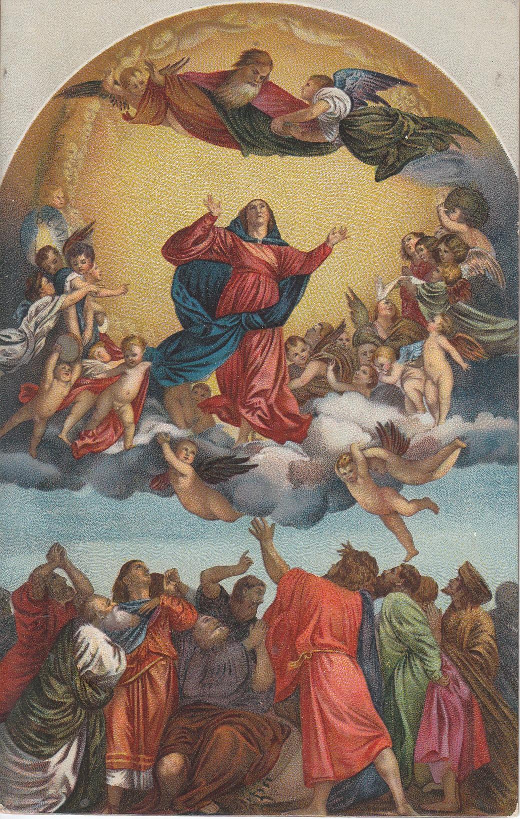 Panna Maria žije v nebi s duší i tělem