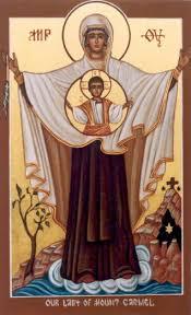 Panna Maria Karmelská září krásou Boží lásky